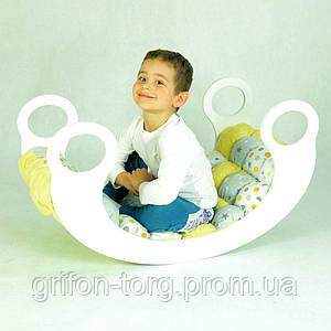 Детская кроватка-качалка с матрасиком (EXD13)