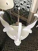 Стол журнальный деревянный  со стеклянной столешницей  ДС-22 Империал Антоник, цвет на выбор