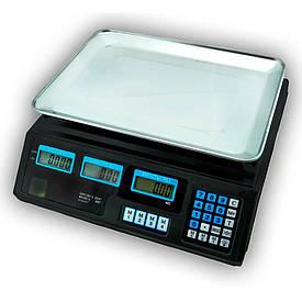 Весы торговые ACS Matrix 50 кг, калькулятор