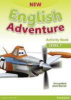 New English Adventure 1 Activity book +Song СD