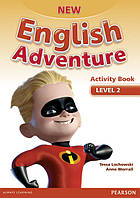 New English Adventure 2 Activity book +Song СD
