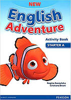 New English Adventure Starter A Activity book +Song СD
