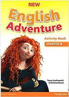 New English Adventure Starter B Activity book +Song СD