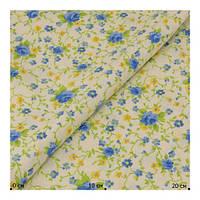 Ткань хлопок Испания с рисунком цветы