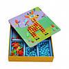 "Мозаика с трафаретами ""Забавные животные"" MiDeer Toys, фото 3"