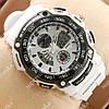 Модные наручные часы G-Shock Twin Sensor White/Black 6005