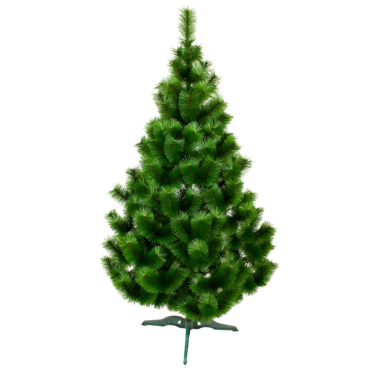 Сосна искусственная Микс 1.8 метра зеленая. Новогодняя Сосна ПВХ МИКС 180см