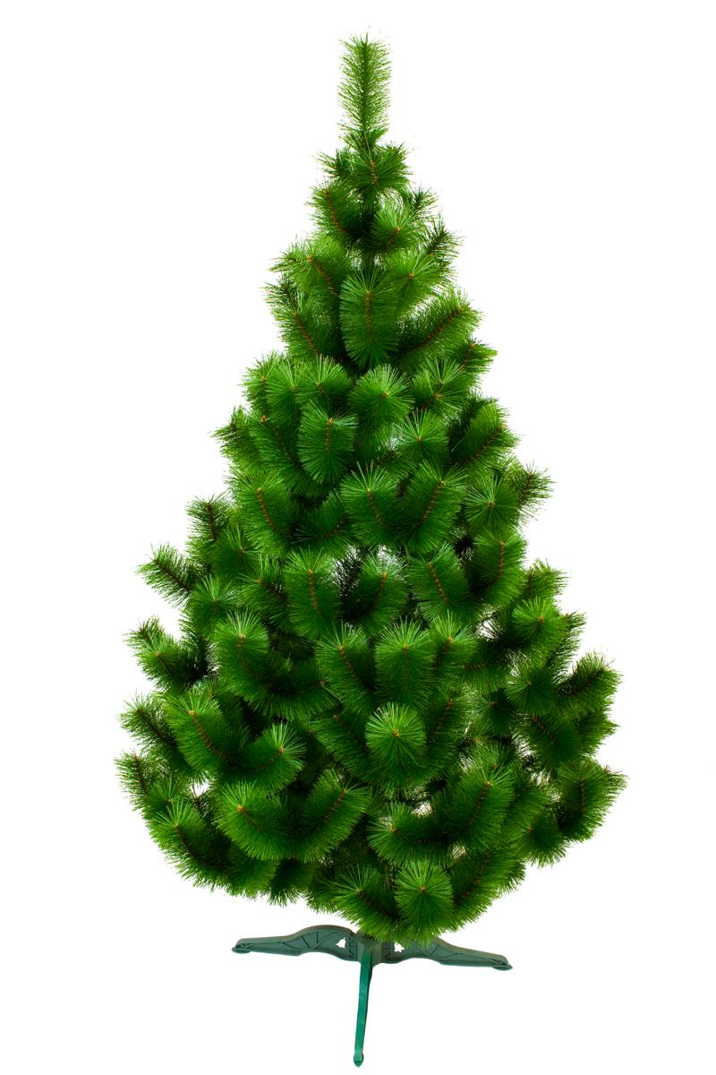 Большая искусственная сосна 2,5 метра высота МИКС зеленая. Рождественская ПВХ сосна 250см