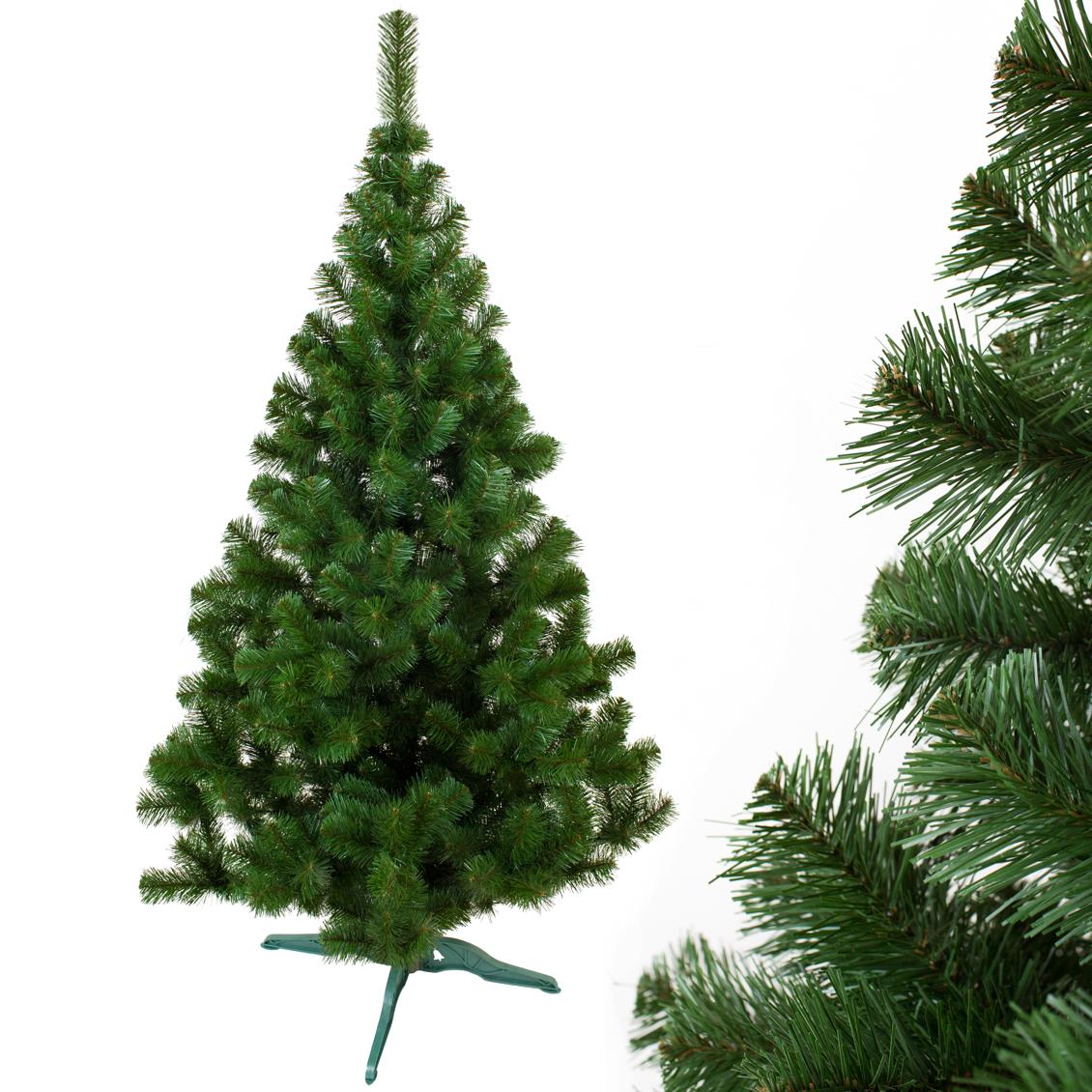 Искусственная Ель 1,8 метра Лесная, новогодняя елка пвх, диаметр 100 см