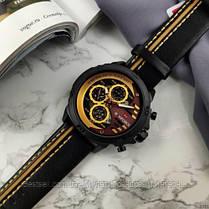 Оригинальные мужские наручные часы  Naviforce NF9110 Black-Brown Навифорс, фото 2