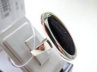Серебряное кольцо с авантюрином, фото 1
