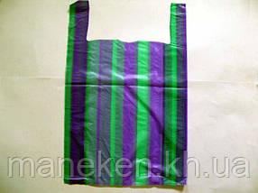 Пакет майка поліетиленова Смуга (38х60) №2 (100 шт)