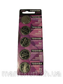 Елемент живлення (батарея) Таблетки Toshiba 2032 (А5) (5 шт)