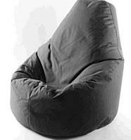Чехол на кресло мешок пуф грушу черный