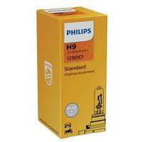 Лампа фары H9 12V 65W PGJ19-5 STANDARD (Philips)(12361C1)