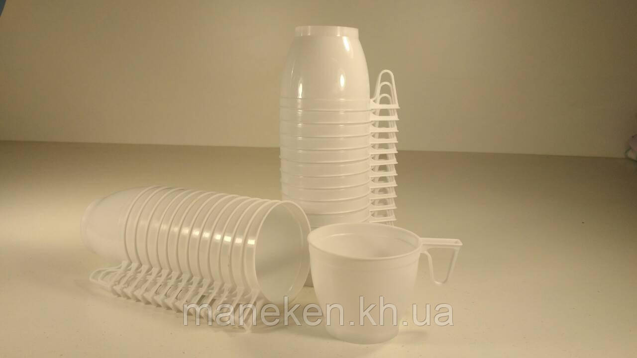 Сумская чашка белая (30 шт)