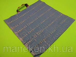 """Пакет с петлевой ручкой  б """" Луиза """"(46х44) цветной Кривой рог (50 шт), фото 2"""