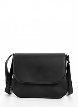 Сумка Кроссбоди черная Сумка через плечо женская Женская сумка Сумка для девушки Сумочка женская