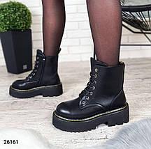 Женские демисезонные ботинки на высокой подошве LS-26161, фото 3