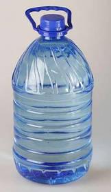 Пластиковая бутылка 5,0 л, прозрачная с крышкой (20 шт)