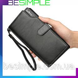 Мужское портмоне Baellerry Business / Мужской кожаный кошелек