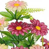 Искусственные цветы букет герберки, 38см, фото 2