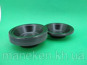 Миска одноразова пластикова 350 ml Чорна (50 шт)