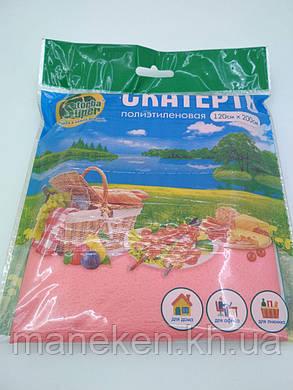 Скатерть (120x200)  Супер торба  розовая (1 шт), фото 2