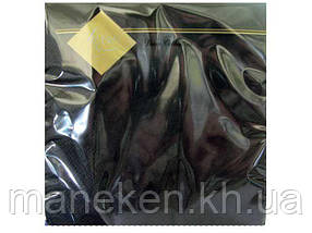 Салфетка декор (ЗЗхЗЗ, 20шт) Luxy Черная (1 пач)