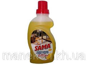 Средство для мытья полов САМА Лимон 750мл (1 шт)