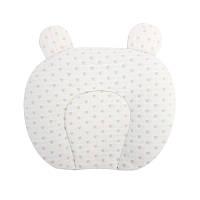 Детская хлопковая ортопедическая подушка Lovely Baby U1 White с наполнителем из гречневой шелухи
