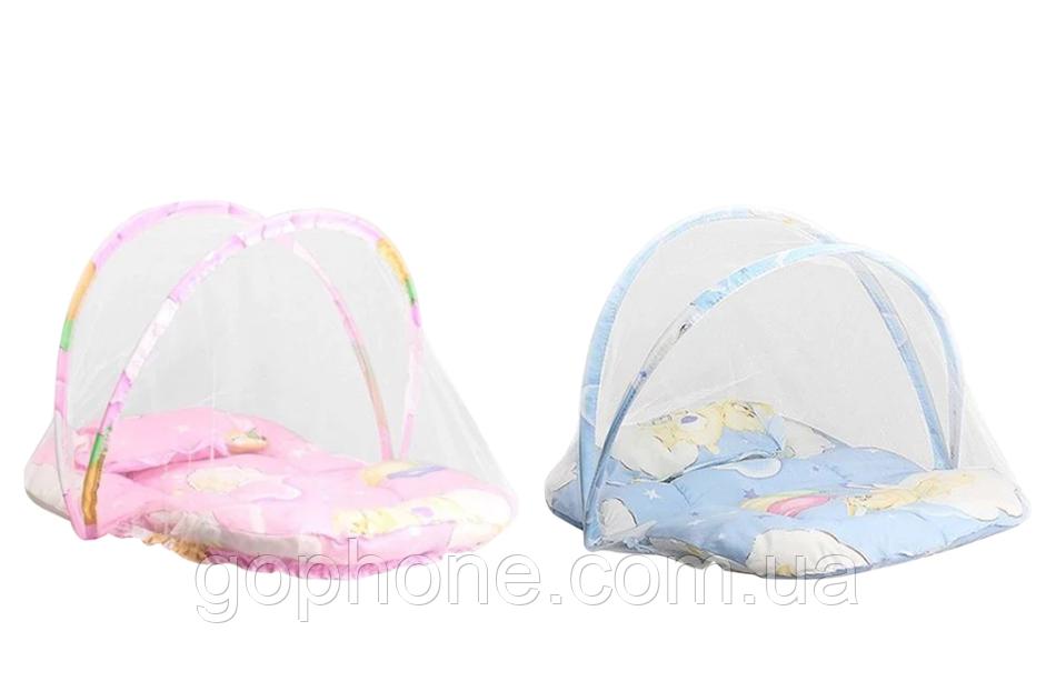 Переносная детская кроватка-палатка с москитной сеткой (new babybed)