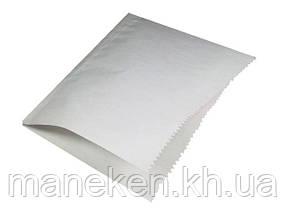 """Пакет паперовий """"гамбургер """"17см*16см білі (2000 шт)"""