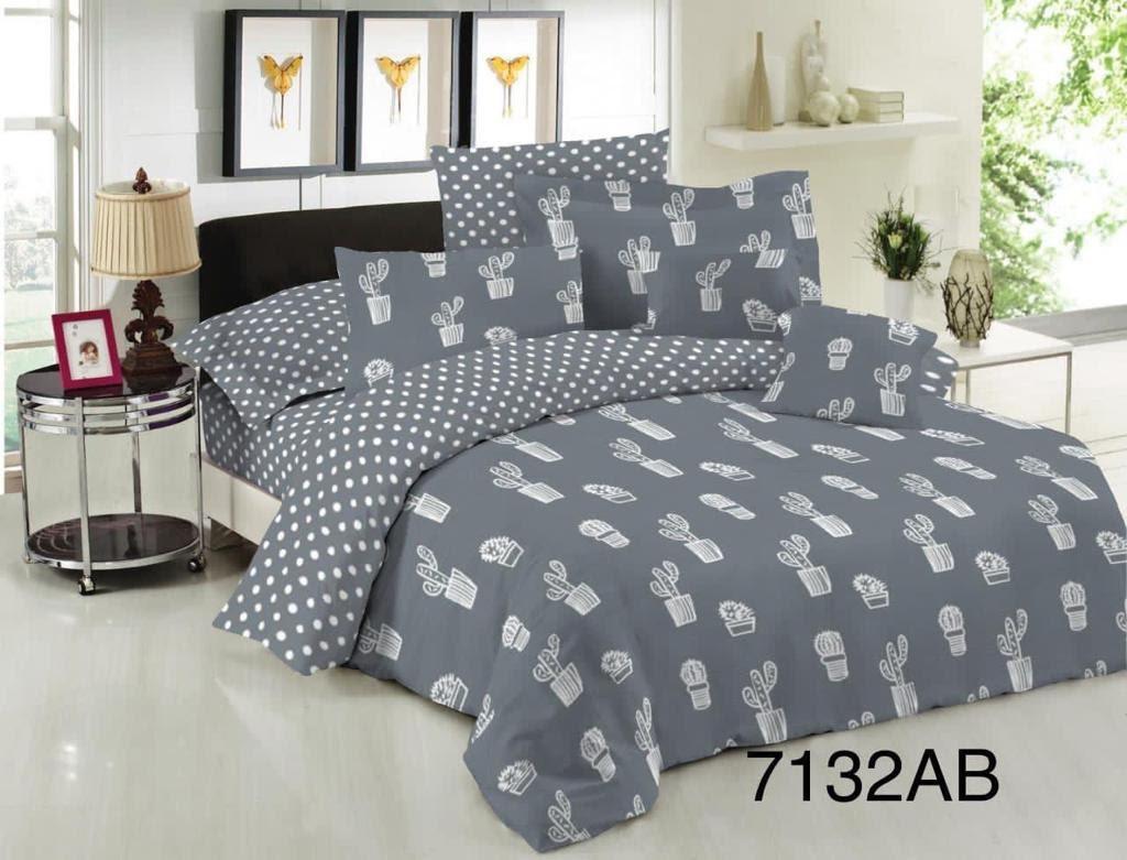 Двуспальный постельный комплект-мексиканский кактус