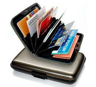 Бумажник для кредитных карт Aluma Wallet Аллюма Уоллет, Кошелек aluma wallet