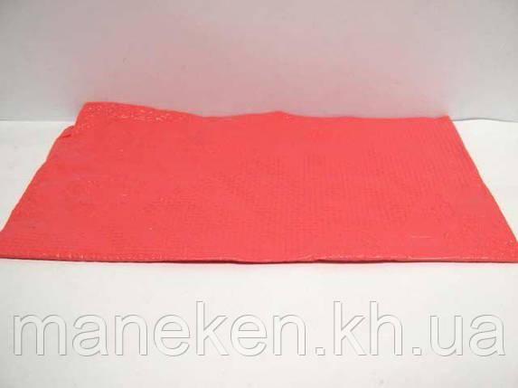 Скатертина одноразова (120x200) червона (1 шт), фото 2