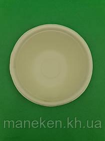 Тарілка паперова 142 мм біла (25 шт)