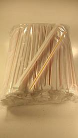 Трубочка  d68-21см в индивид. упаковке Полоса (200 шт)