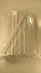 Трубочка d6.8-21см в индивид. упаковке Прозрачная  (200 шт)