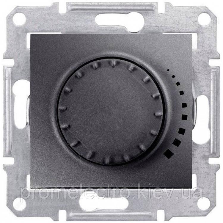 Диммер Schneider-Electric Sedna поворотный индуктивный графит (SDN2200470)
