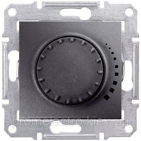 Диммер Schneider-Electric Sedna поворотный индуктивный графит (SDN2200470), фото 2