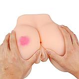 Мастурбатор реалистичная попка с розочкой, фото 5