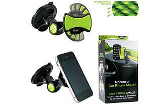 Держатель GripGo, Подставка-держатель мобильного телефона, GPS и планшета GripGo