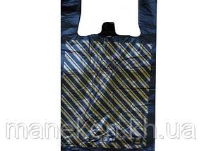 Пакет майка поліетиленова Діагональ (41х66) №3 (100 шт)