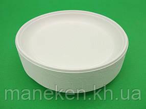 Тарілка одноразова діаметр 165мм Супер (100 шт)