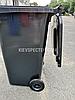 Євроконтейнер пластиковий, Weber V-120 л, чорний, фото 4