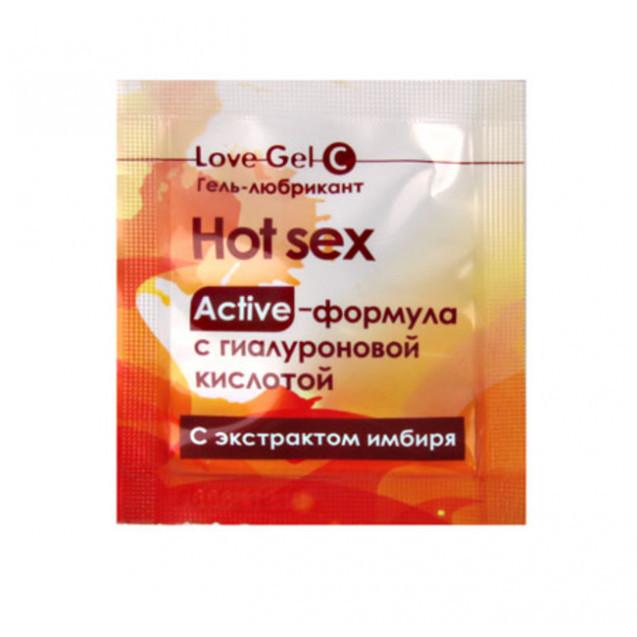 Гель-любрикант LOVEGEL C одноразовая упаковка 4 г