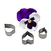 Анютины глазки набор каттеров для мастики, фото 1