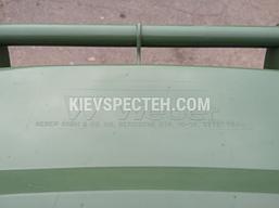 Євроконтейнер пластиковий, Weber V-120 л, зелений, фото 3
