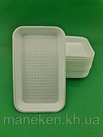Підкладка (лотки) зі спіненого полістиролу (222*133*20) T-3-20 (300 шт)
